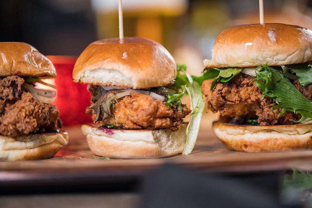 Chicken Sliders (Smoked Burgers & BBQ)