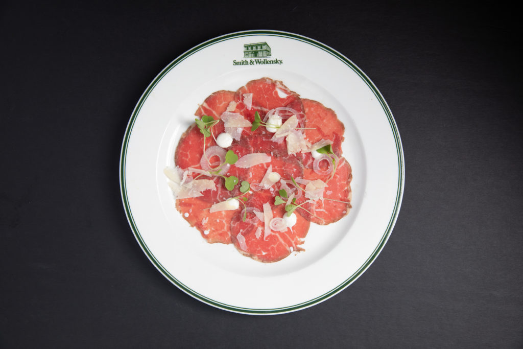 Smith & Wollensky - carpaccio  (2019 Galdones Photography)