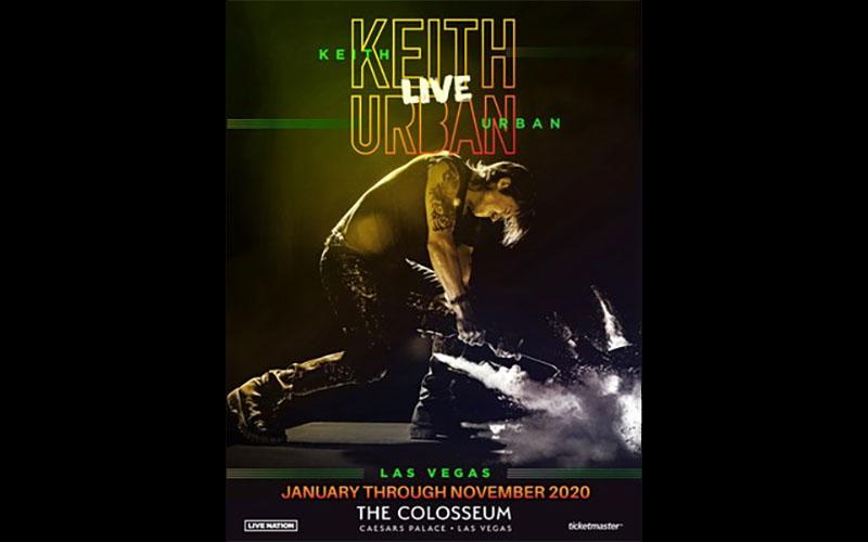 Keith Urban live in Vegas (Caesars)