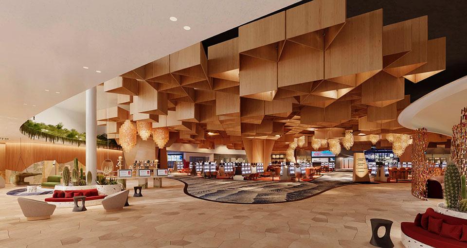 Virgin Hotel Las Vegas - lobby rendering (Virgin)