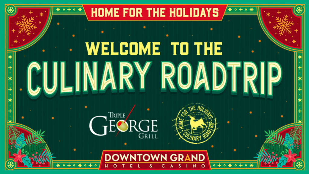 Culinary Road Trip Closes out 2019 With A Holiday Experience at Triple George Grill