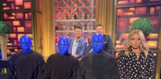 RECAP: Blue Man Group makes a Surprise Appearance on Live with Kelly and Ryan, Dec. 27