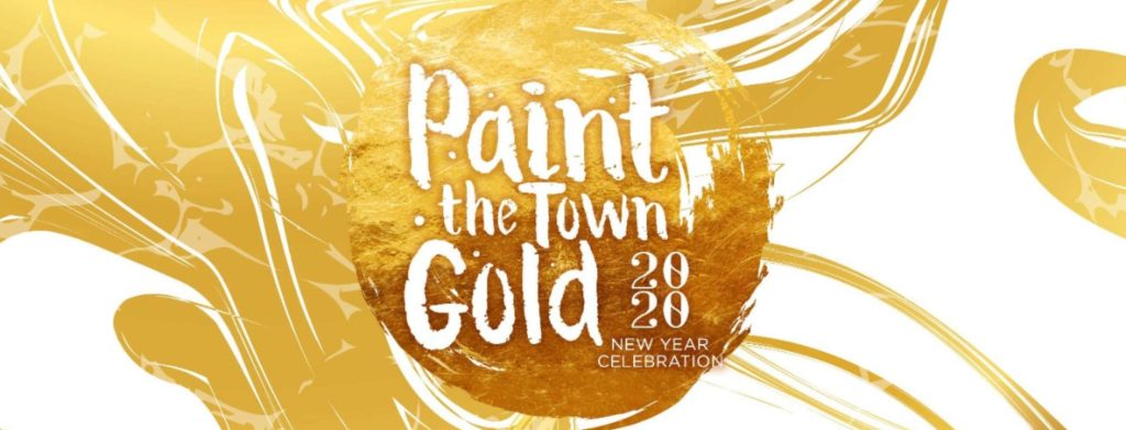 Mandalay Bay Paint the Town Gold
