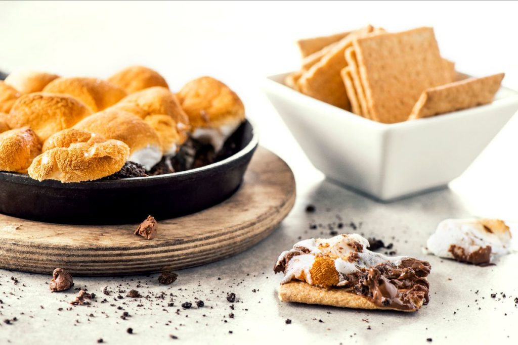 Nutella S'mores Skillet (Topgolf)