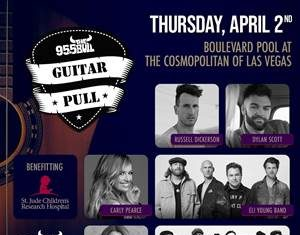 All-Star Guitar Pull Presented by 95.5 The Bull Returns to The Cosmopolitan, April 2