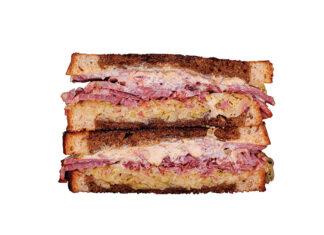 Goodwich - reuben-ish sandwich