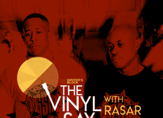 The Vinyl Say with Rasar Amani Returns with Another Virtual Pop Up - Saturday, Oct. 24