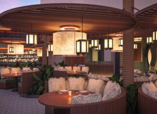 Resorts World Las Vegas - Fuhu - Patio Rendering