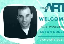 Rogers Art Loft Welcomes Playwright and Performer Anton Dudley for First Virtual Artist-in-Residency of 2021