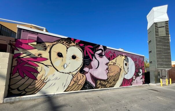 'Mural Way' Art Installations Debut at Downtown Container Park