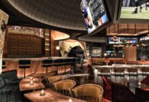 Stadia bar at Caesars
