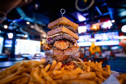 A Food Challenge Cruises Into Vegas and New Menu Items Too at Sickies Garage Burgers & Brews