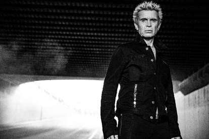 Rock Icon Billy Idol Returns To The Cosmopolitan of Las Vegas