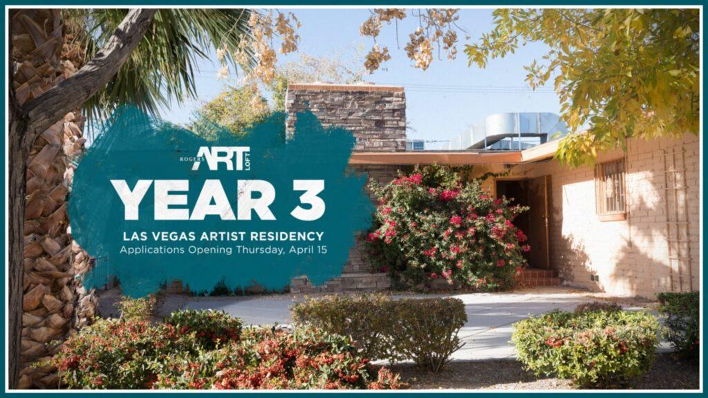 Rogers Art Loft Announces Applications Opening for 2022 Artist-In-Residency Program in Las Vegas