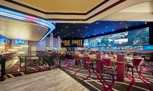 Rampart Casino At the Race & Sports Book