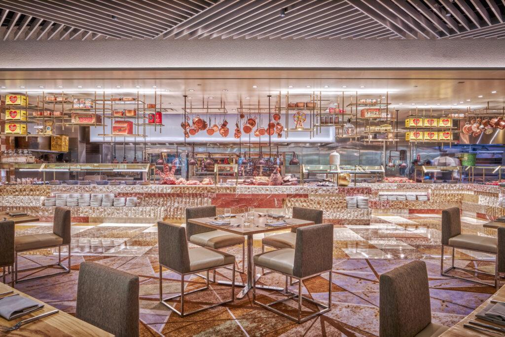 Bacchanal Buffet dining room