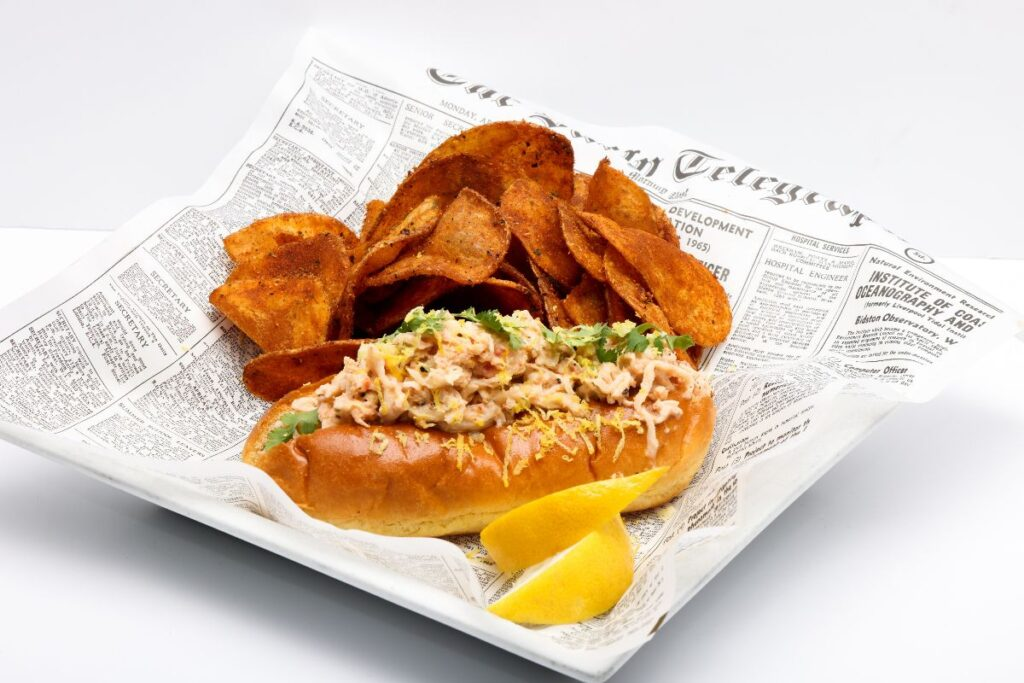 Distill and Remedy's - Maine Lobster Roll